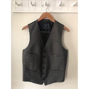 J.Crew Men's Gray Suit Vest